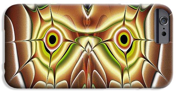 Barn Owl IPhone Case by Anastasiya Malakhova