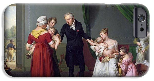 Baron Jean Louis Alibert IPhone Case by Constant Joseph Desbordes