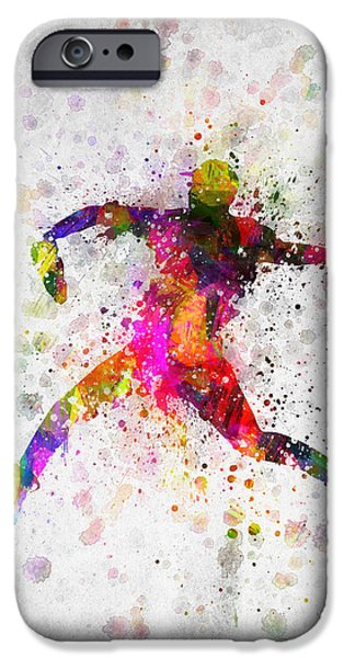 Baseball Player - Pitcher IPhone 6s Case by Aged Pixel