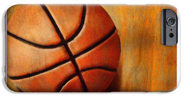 Basket Ball IPhone Case by Craig Tinder