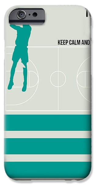 Basketball Poster IPhone 6s Case by Naxart Studio