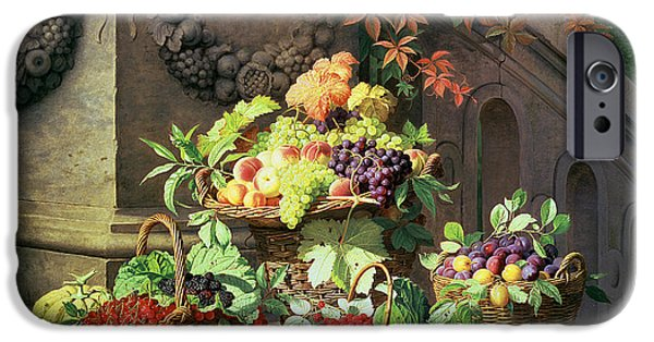 Baskets Of Summer Fruits IPhone 6s Case by William Hammer