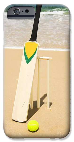 Bat Ball And Stumps IPhone 6s Case by Jorgo Photography - Wall Art Gallery