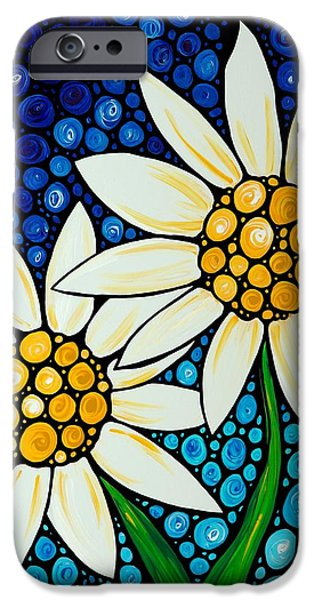 Bathing Beauties - Daisy Art By Sharon Cummings IPhone 6s Case by Sharon Cummings