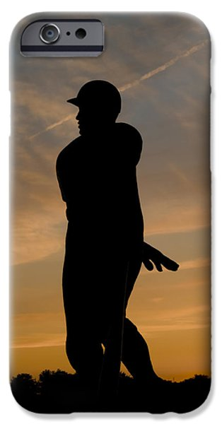 Batter At Dawn - Phillies IPhone Case by Bill Cannon