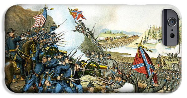 Battle Of Franklin IPhone Case by Unknown