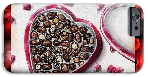 Be My Valentine IPhone Case by Shana Rowe Jackson