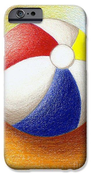 Beach Ball IPhone Case by Stephanie Troxell