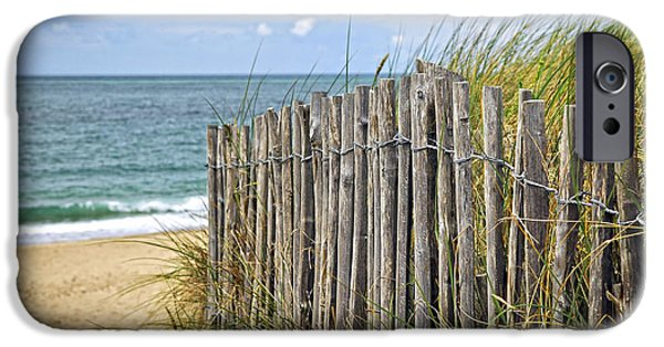 Beach Fence IPhone Case by Elena Elisseeva