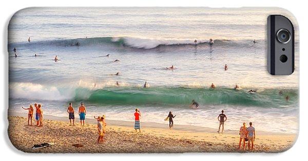 Beach Life IPhone Case by Shuwen Wu