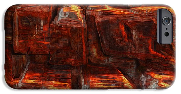 Beams IPhone Case by Jack Zulli