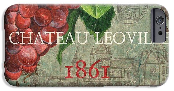 Beaujolais Nouveau 1 IPhone Case by Debbie DeWitt