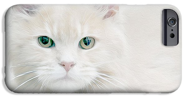 Beautiful Eyes IPhone Case by Jon Neidert