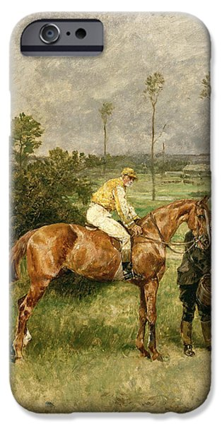 Before The Start IPhone Case by John Lewis Brown