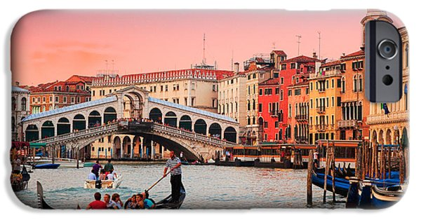 La Bella Canal Grande IPhone Case by Inge Johnsson
