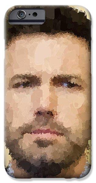 Ben Affleck Portrait IPhone 6s Case by Samuel Majcen