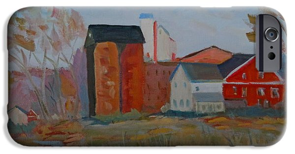Benfield's Mill IPhone Case by Francine Frank