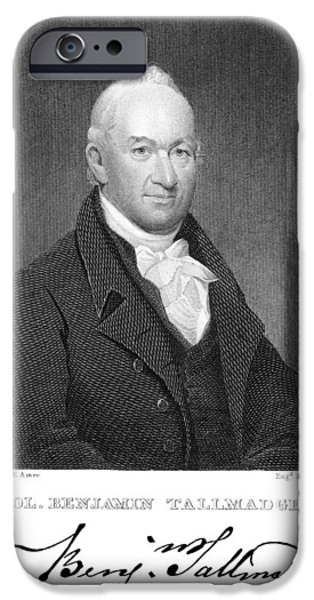 Benjamin Tallmadge IPhone Case by Granger