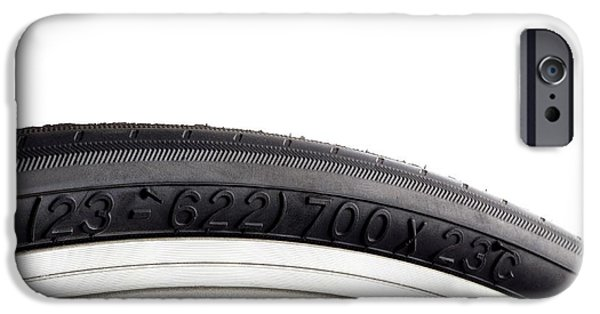 Bicycle Tyre IPhone Case by Science Photo Library