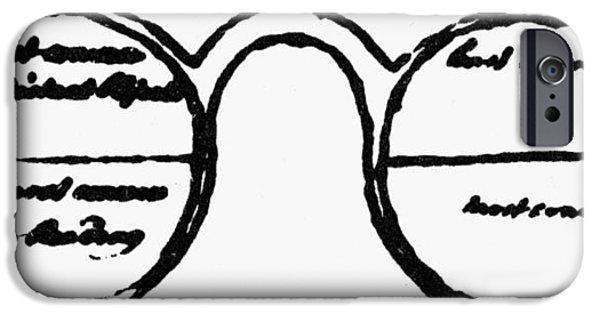 Bifocals, 1760s IPhone Case by Granger