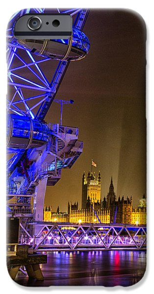 Big Ben And The London Eye IPhone 6s Case by Ian Hufton
