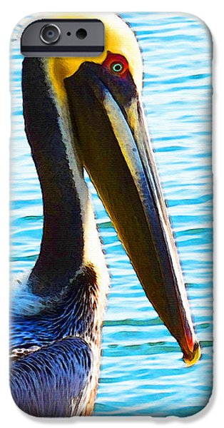 Big Bill - Pelican Art By Sharon Cummings IPhone 6s Case by Sharon Cummings