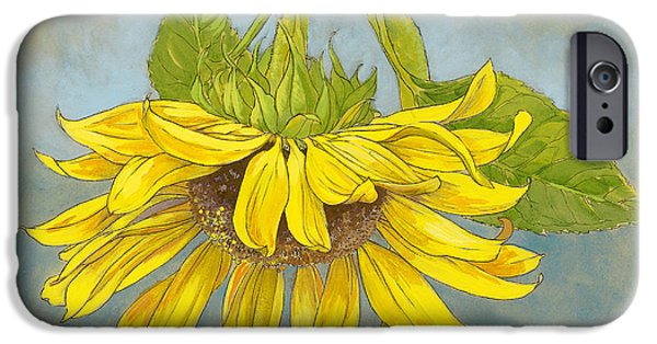 Big Sunflower IPhone 6s Case by Tracie Thompson