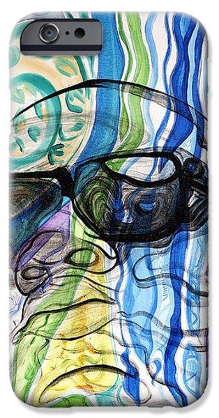 Biggie IPhone Case by Aliya Michelle