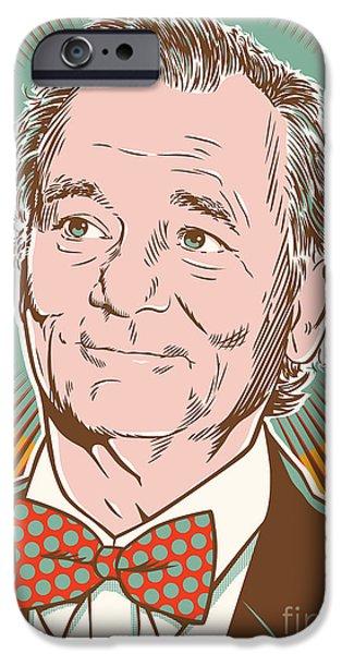 Bill Murray Pop Art IPhone 6s Case by Jim Zahniser