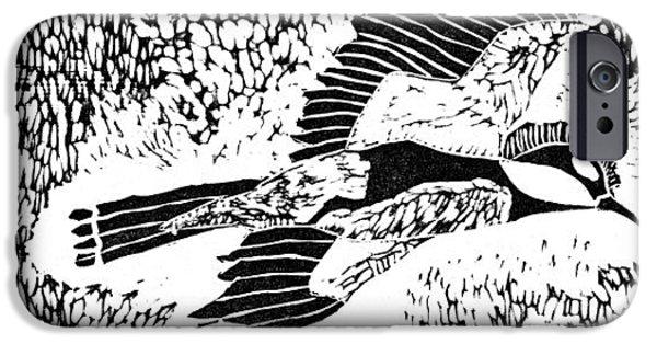 Bird IPhone Case by Keiskamma art project