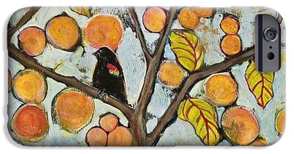Birds In Paris Landscape IPhone 6s Case by Blenda Studio