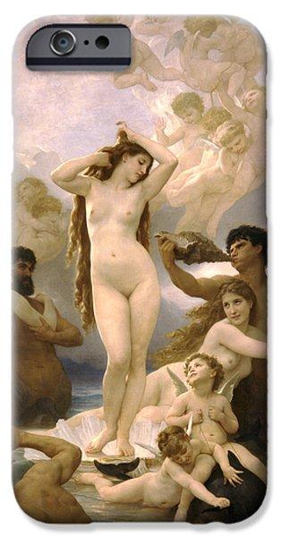 Birth Of Venus IPhone 6s Case by William Bouguereau