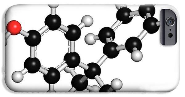 Bisphenol A Plastic Pollutant Molecule IPhone Case by Molekuul