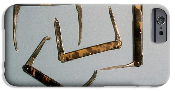 Bistoury Knives IPhone Case by Science Photo Library