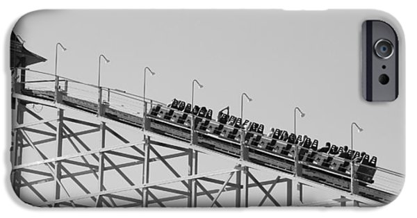 Black And White Roller Coaster IPhone 6s Case by Dan Sproul