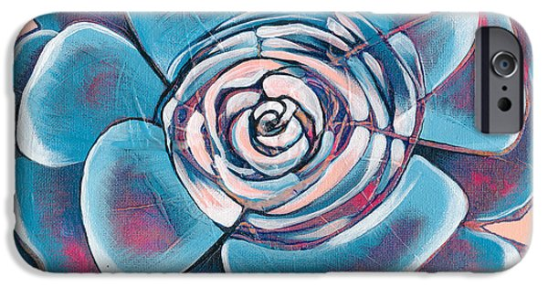 Bloom I IPhone Case by Shadia Zayed