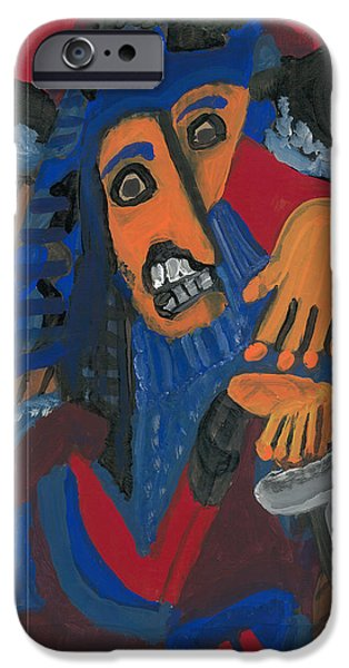 Bluebeard IPhone Case by Don Koester