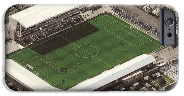 Blundell Park - Grimsby Town IPhone Case by Kevin Fletcher