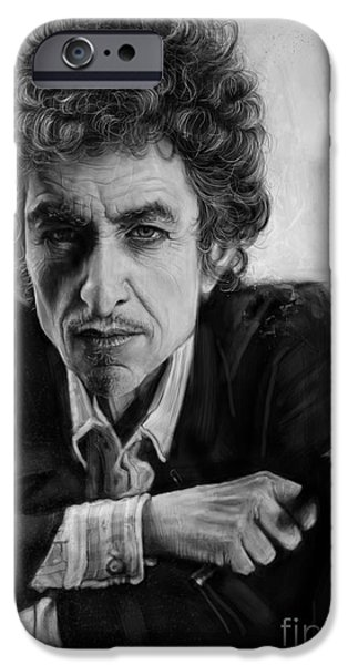 Bob Dylan IPhone 6s Case by Andre Koekemoer