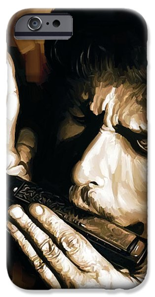 Bob Dylan Artwork 2 IPhone 6s Case by Sheraz A