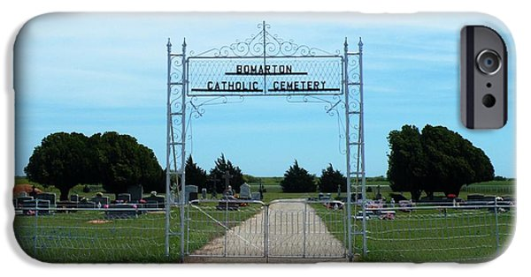 Bomarton Catholic Cemetery 1 IPhone Case by The GYPSY And DEBBIE