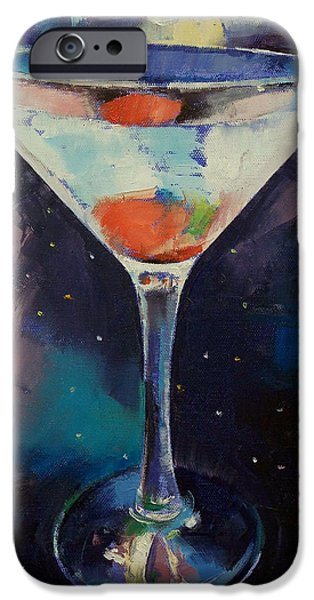 Bombay Sapphire Martini IPhone 6s Case by Michael Creese