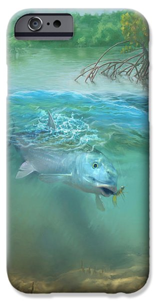 Bone Fish IPhone 6s Case by Rob Corsetti