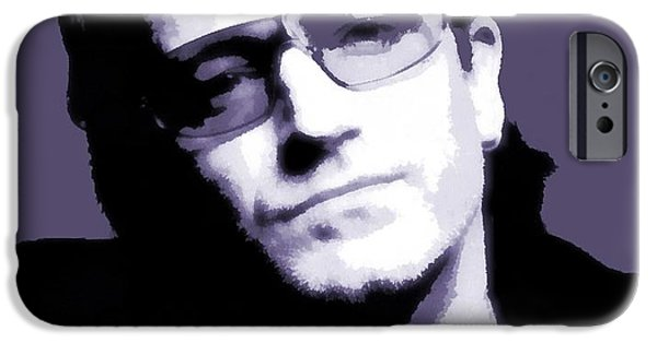 Bono Portrait IPhone 6s Case by Dan Sproul
