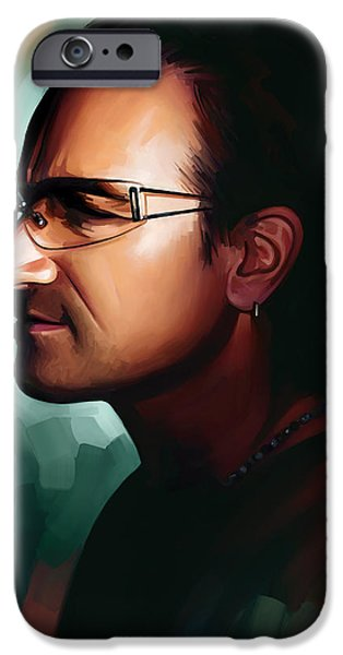 Bono U2 Artwork 1 IPhone 6s Case by Sheraz A