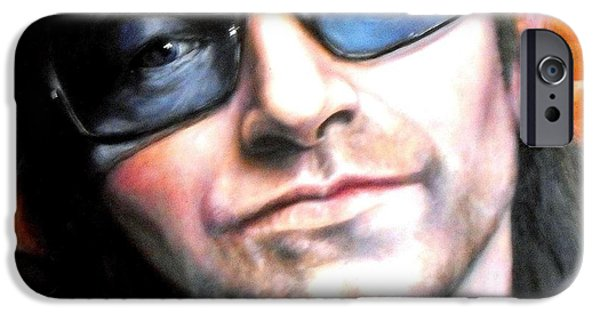 Bono IPhone Case by William Ferguson