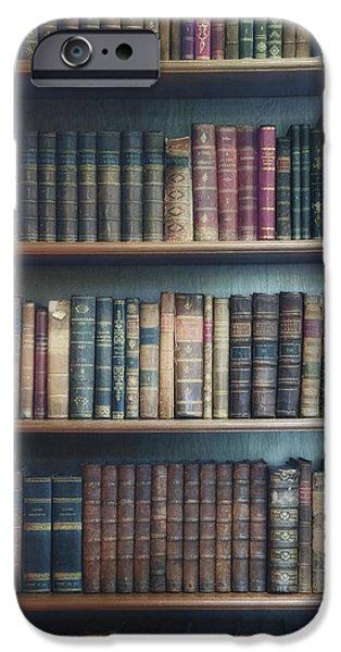 Bookshelf IPhone Case by Joana Kruse