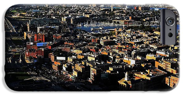 Boston Afternoon IPhone Case by Benjamin Yeager