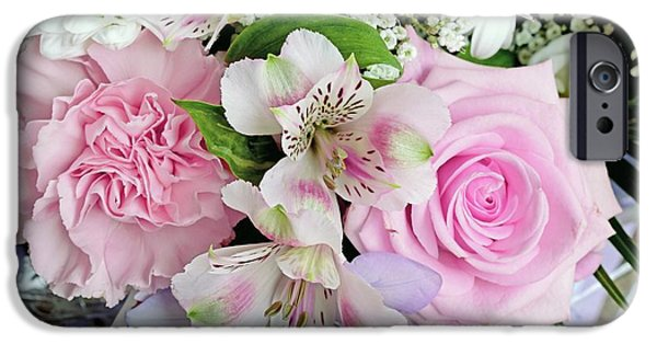 Bouquet Of Flowers IPhone Case by D C Robinson