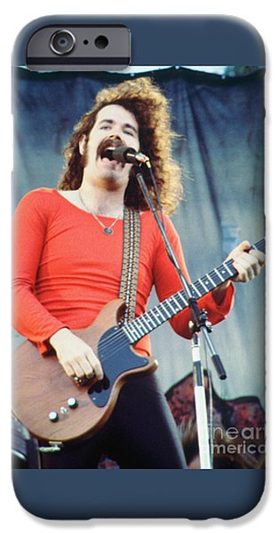 Brad Delp Of Boston-day On The Green 1 In Oakland Ca 5-6-79 1st Release IPhone Case by Daniel Larsen